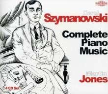 Karol Szymanowski (1882-1937): Sämtliche Klavierwerke, 4 CDs