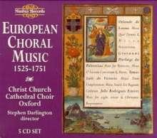 Christ Church Cathedral Choir - European Choral Music, 5 CDs