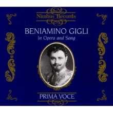 Benjamino Gigli in Opera & Song, 3 CDs