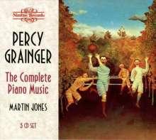 Percy Grainger (1882-1961): Sämtliche Klavierwerke Vol.1-5, 5 CDs