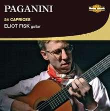 Niccolo Paganini (1782-1840): Capricen op.1 Nr.1-24 für Gitarre solo, CD