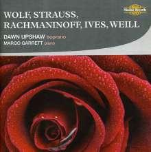 Dawn Upshaw singt Lieder, CD