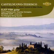 Mario Castelnuovo-Tedesco (1895-1968): Gitarrenkonzert Nr.1, CD