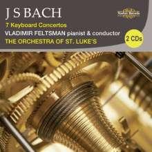 Johann Sebastian Bach (1685-1750): Klavierkonzerte BWV 1052-1056,1058, 2 CDs
