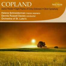Aaron Copland (1900-1990): 8 Poems of Emily Dickinson, CD