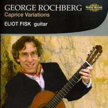 George Rochberg (1918-2005): Caprice Variationen für Gitarre, CD