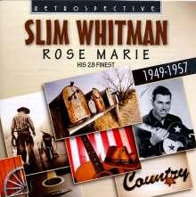 Slim Whitman: Rose Marie, CD