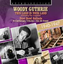 Woody Guthrie: This Land Is Your Land / Dust Bowl Ballads, CD