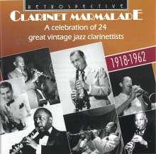 Jazz Sampler: Clarinet Marmalade: 24 Great Jazz Clarinettists, CD