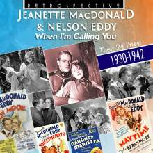 Jeanette MacDonald & Nelson Eddy: When I'm Calling You, CD