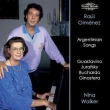 Raul Gimenez singt argentinische Lieder, CD