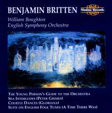 Benjamin Britten (1913-1976): The Young Persons Guide to the Orchestra, CD