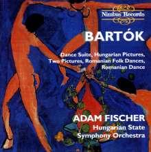 Bela Bartok (1881-1945): Tanzsuite, CD