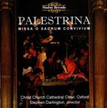"Giovanni Pierluigi da Palestrina (1525-1594): Missa ""O Sacrum Convivium"", CD"