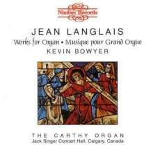 Jean Langlais (1907-1991): Orgelwerke, CD