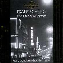 Franz Schmidt (1874-1939): Streichquartette in A & G, CD