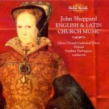 John Sheppard (1515-1560): Geistliche Musik, CD