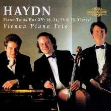 Joseph Haydn (1732-1809): Klaviertrios H15 Nr.17,24,25,29, CD
