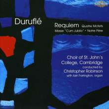 Maurice Durufle (1902-1986): Requiem op.9, CD