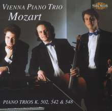 Wolfgang Amadeus Mozart (1756-1791): Klaviertrios Nr.2-4 (KV 502,542,548), CD