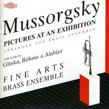Modest Mussorgsky (1839-1881): Bilder einer Ausstellung (Fassung f.Bläser), CD