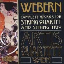 Anton Webern (1883-1945): Werke für Streichquartett, CD
