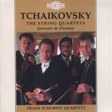 Peter Iljitsch Tschaikowsky (1840-1893): Streichquartette Nr.1-3, 2 CDs