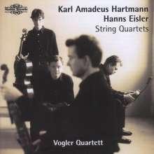 Karl Amadeus Hartmann (1905-1963): Streichquartette Nr.1 & 2, CD