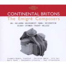 Continental Britons - The Emigre Composers, 2 CDs