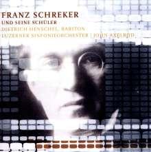 Franz Schreker (1878-1934): Intermezzo op.8 für Streichorchester, CD