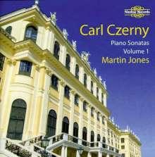 Carl Czerny (1791-1857): Klaviersonaten Vol.1, 2 CDs