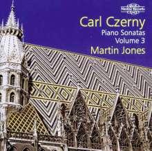 Carl Czerny (1791-1857): Klaviersonaten Vol.3, CD
