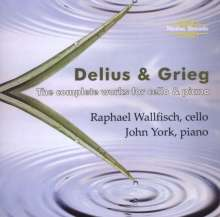 Raphael Wallfisch & John York - Delius & Grieg, CD