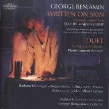 George Benjamin (geb. 1960): Written on Skin, 2 CDs