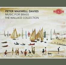 Peter Maxwell Davies (1934-2016): Kammermusik für Blechbläser, CD