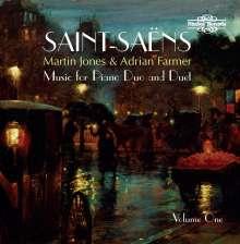 Camille Saint-Saens (1835-1921): Werke für 2 Klaviere & Klavier 4-händig Vol.1, CD