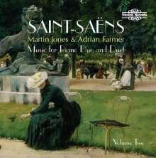 Camille Saint-Saens (1835-1921): Werke für 2 Klaviere & Klavier 4-händig Vol.2, CD