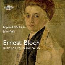 Ernest Bloch (1880-1959): Kammermusik für Cello & Klavier, CD
