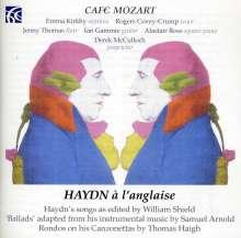 Cafe Mozart - Haydn a l'anglaise, CD
