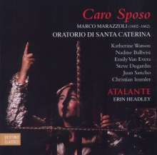 Marco Marazzoli (1608-1662): Oratorio di Santa Caterina, CD