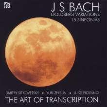 Johann Sebastian Bach (1685-1750): Goldberg-Variationen BWV 988 für Streichtrio, CD