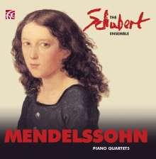 Felix Mendelssohn Bartholdy (1809-1847): Klavierquartette Nr.1 & 2, 2 CDs