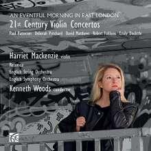 Harriet Mackenzie - 21st Century Violin Concertos, CD