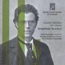 Gustav Mahler (1860-1911): Symphonie Nr.4 (Bearbeitung für Kammerensemble von Klaus Simon), CD