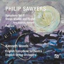Philip Sawyers (geb. 1951): Symphonie Nr.3, CD