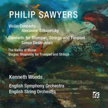 Philip Sawyers (geb. 1951): Violinkonzert, CD