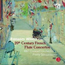 20th Century French Flute Concertos, CD