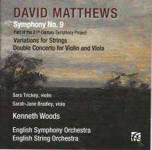 David Matthews (geb. 1943): Symphonie Nr.9, CD
