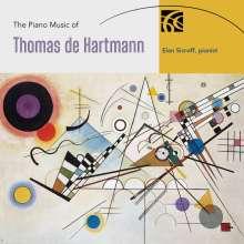 Thomas de Hartmann (1885-1956): Klavierwerke, 2 CDs