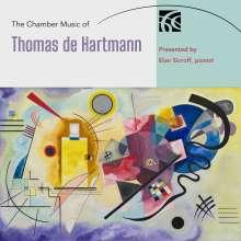 Thomas de Hartmann (1885-1956): Kammermusik, 2 CDs